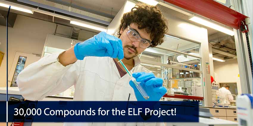 30000 Compounds for  the ELF Project